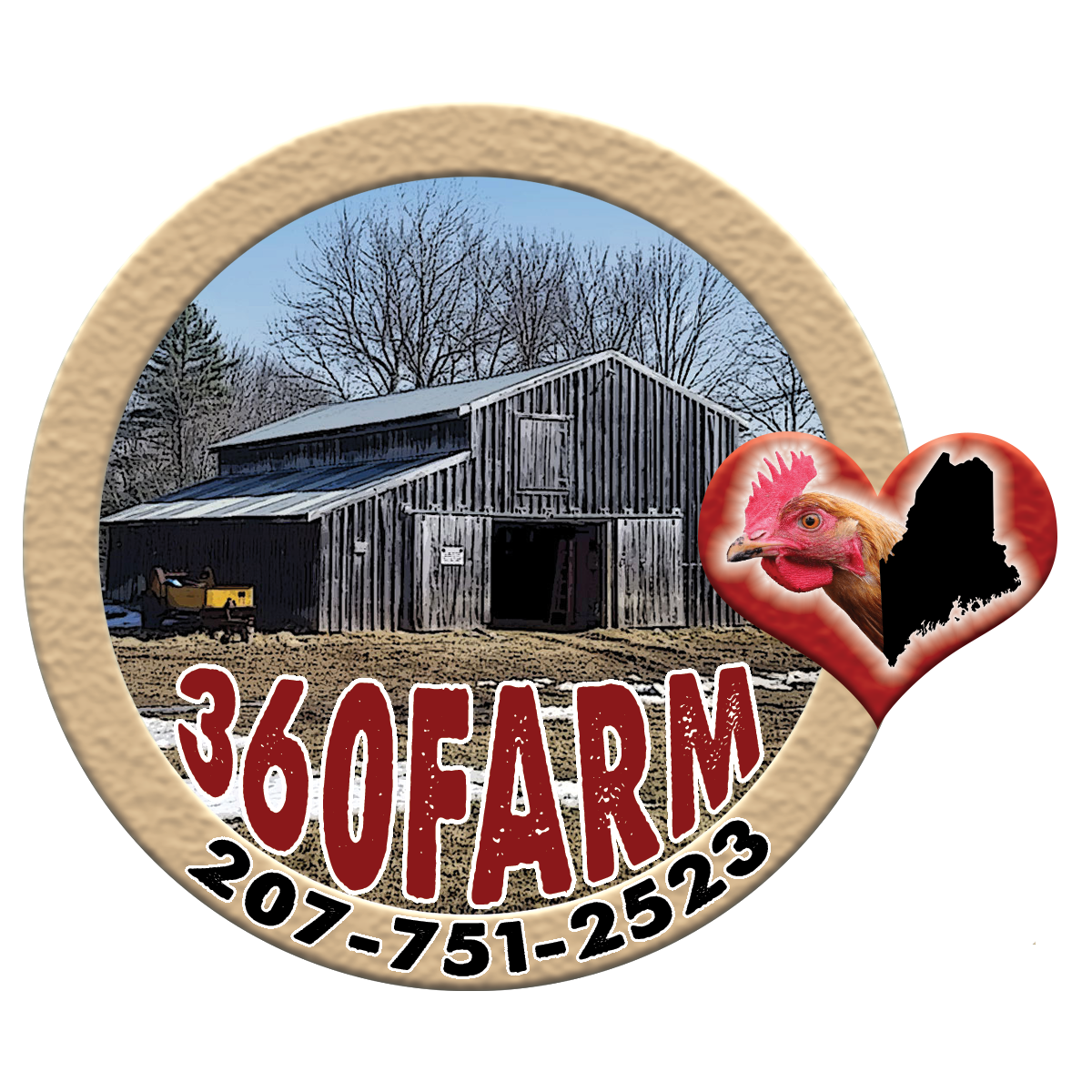 360Farm – High Quality, Farm Fresh Maine Chicken Eggs and Fryer Chickens for Sale!